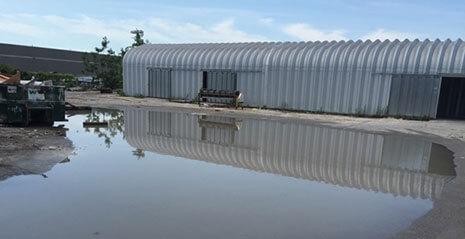 Commercial Waterproofing Leak Project