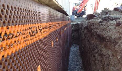 Basement Waterproofing in Scarborough Exterior